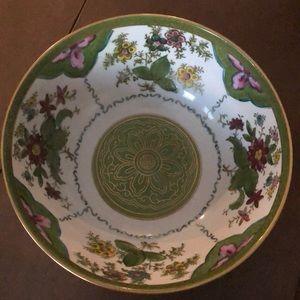 Other - Floral Porcelain Bowl